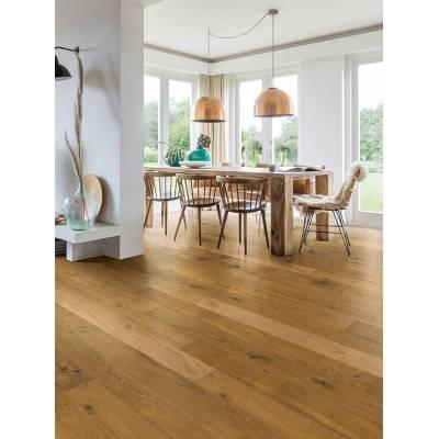 Podłoga drewniana Barrel brown Oak