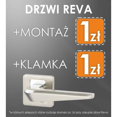 Drzwi wewnętrzne Reva 5