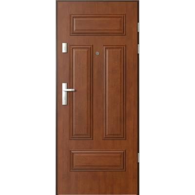 Drzwi wejściowe AGAT Plus ramka 4 z panelem