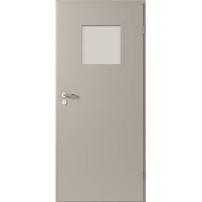 Drzwi techniczne Steel SOLID model 2