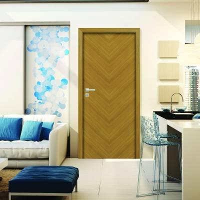Drzwi wewnętrzne Espina W01 biała szyba