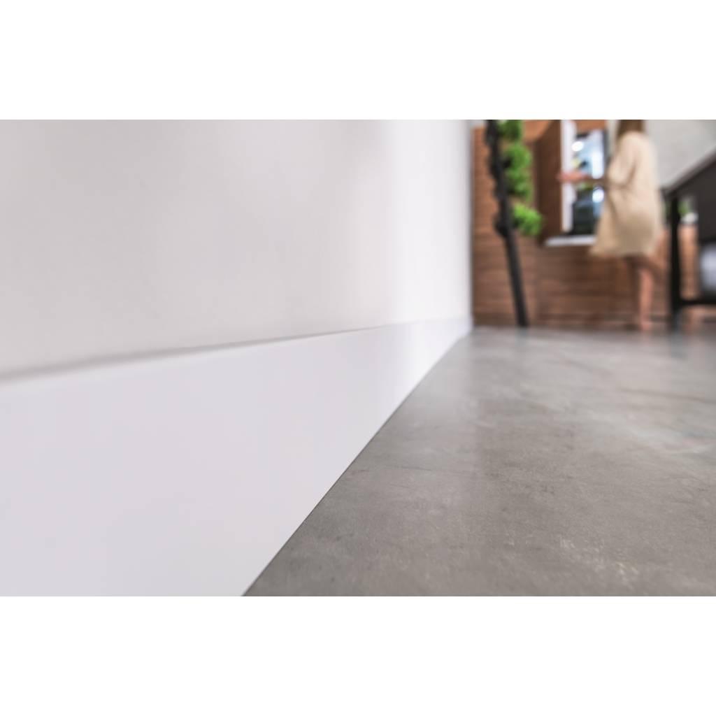 Listwy przypodłogowe Zaślepki do listew Espumo ESP301 Białe komplet Prawa/Lewa