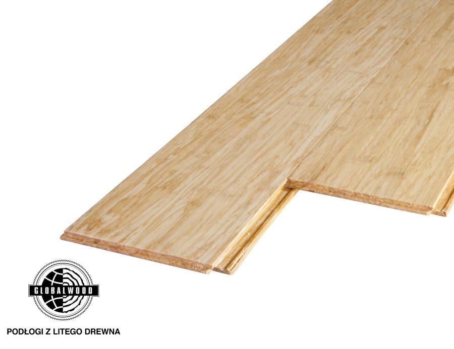 Lite drewno bambus prasowany click natur a lite drewno