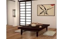 Lite drewno Bambus Prasowany Click Karbon Olej