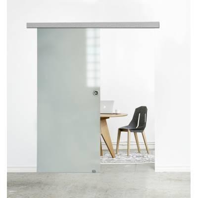 Drzwi  przesuwne System naścienny MUTO tafla szklana
