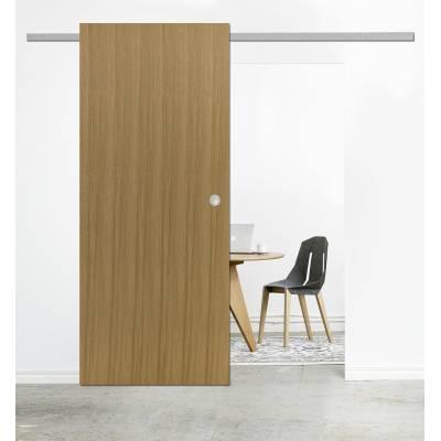 Drzwi przesuwne System naścienny DIVA skrzydło drewniane