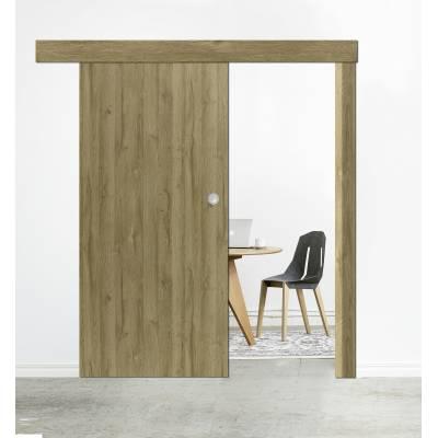 Drzwi przesuwne System naścienny INTER DOOR skrzydło drewniane