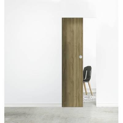 Drzwi przesuwne System kasetowy bezościeżnicowy SYNTESIS LINE skrzydło drewniane