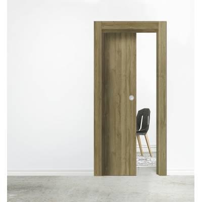 Drzwi przesuwne System kasetowy ościeżnicowy skrzydło drewniane