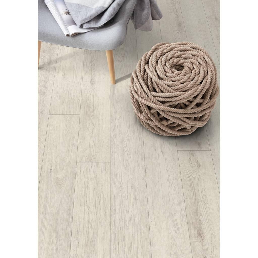 Panele podłogowe Dąb Cortina  Biały