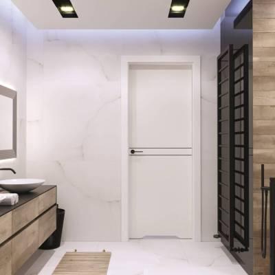 Drzwi wewnętrzne Porta DESIRE UV model 4 czarne intarsje