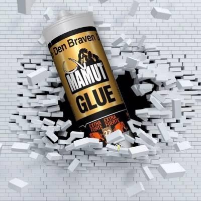 Klej montażowy Klej uniwersalny do listew Mamut Glue Biały 290ml
