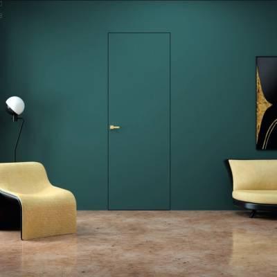 Drzwi wewnętrzne Sara Eco 2 bezprzylgowe ukryte lewe