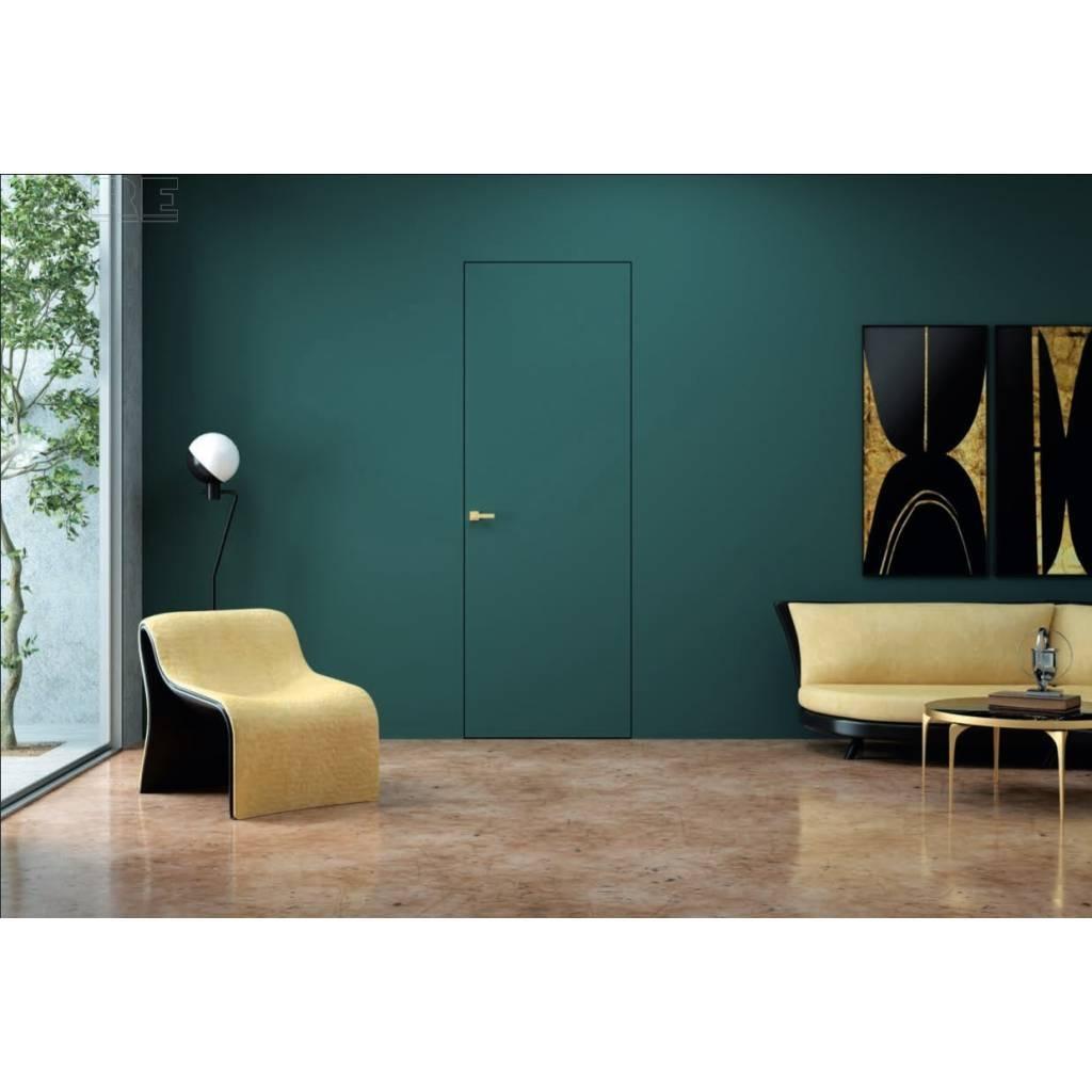 Drzwi wewnętrzne Sara Eco 2 bezprzylgowe ukryte prawe WC