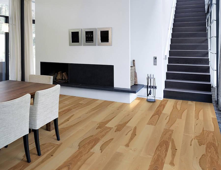 Podłogi drewniane jesion