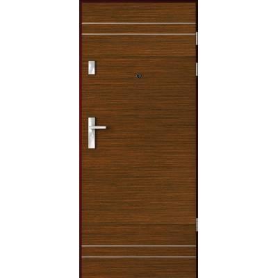 Drzwi wejściowe AGAT Plus z Intarsjami 4