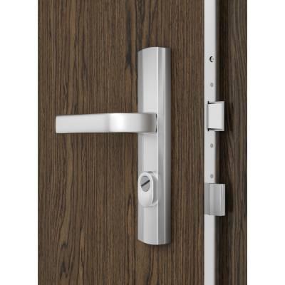 Drzwi wejściowe  KWARC Intarsje 1