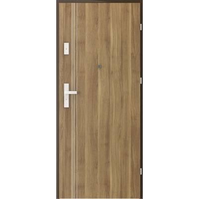 Drzwi wejściowe KWARC Intarsje 3