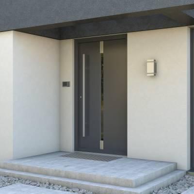 Drzwi zewnętrzne Eco POLAR PASSIVE Pełne