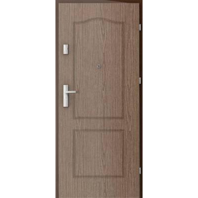 Drzwi akustyczne Rw=27 dB Frezowane 9