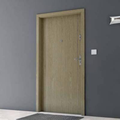 Drzwi akustyczne Rw=27 dB z Intarsjami 1