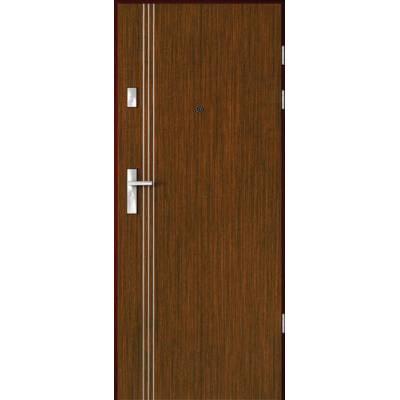 Drzwi akustyczne Rw=27 dB z Intarsjami 3