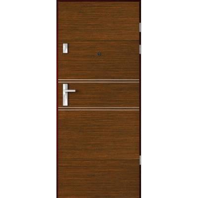 Drzwi akustyczne Rw=27 dB z Intarsjami 4