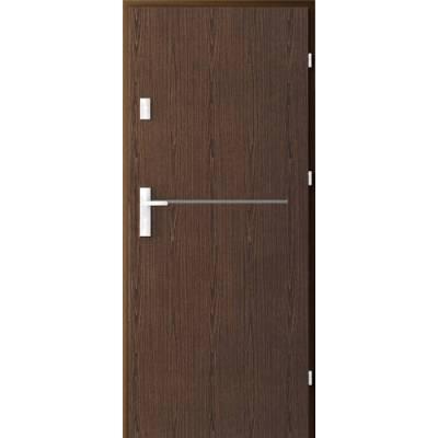 Drzwi akustyczne Rw=32 dB Frezowane Office 6