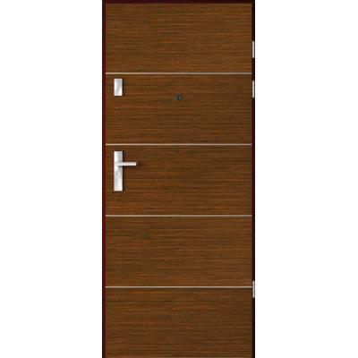 Drzwi akustyczne Rw=32 dB z Intarsjami 6